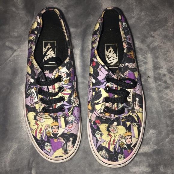 Vans Shoes | Disney Villains | Poshmark